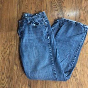 Vintage 529 Curvy Bootcut Levi Jeans.